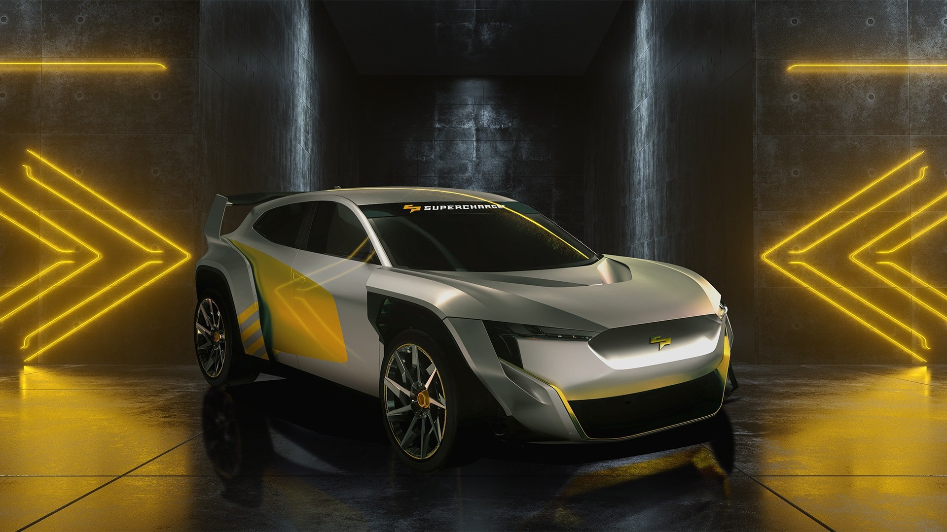 SuperCharge - new road-car based global electric motorsport series unveiled