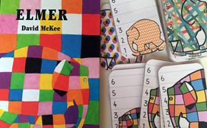 actividades matemáticas con elmer educación infantil