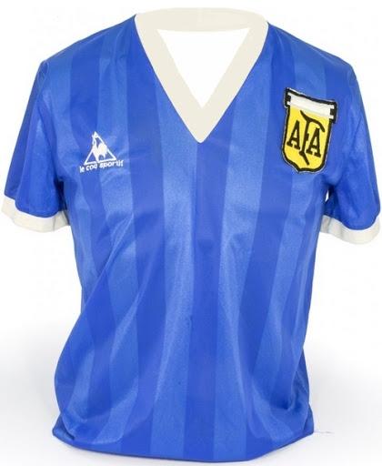 Curiosidades Precio Camisa Original de Maradona Mundial 1986