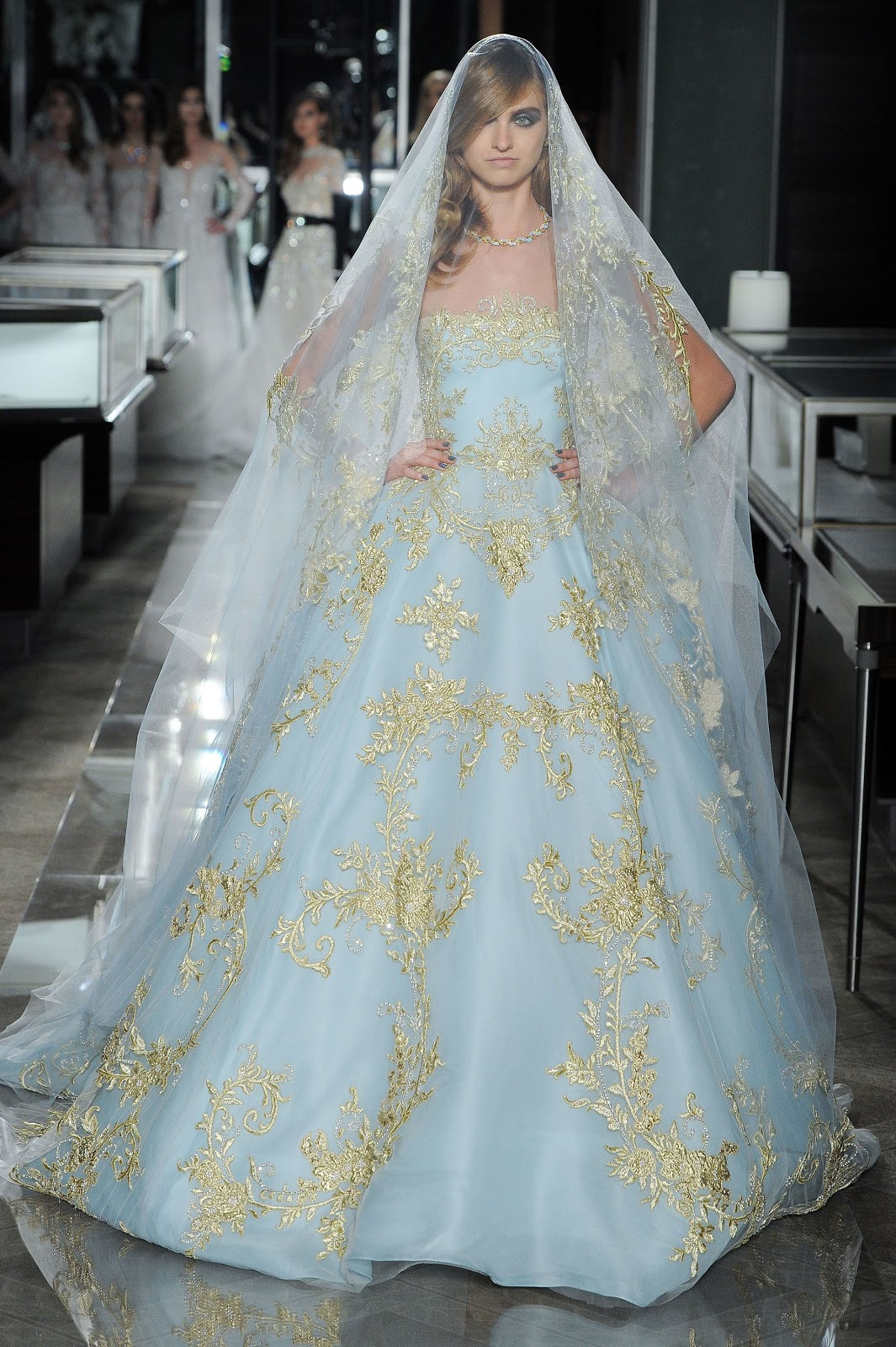 Runway : Reem Acra Bridal Spring 2018 Collection | Cool Chic Style ...