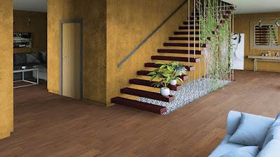 Memilih lantai vinyl untuk koridor dan lorong antar ruangan
