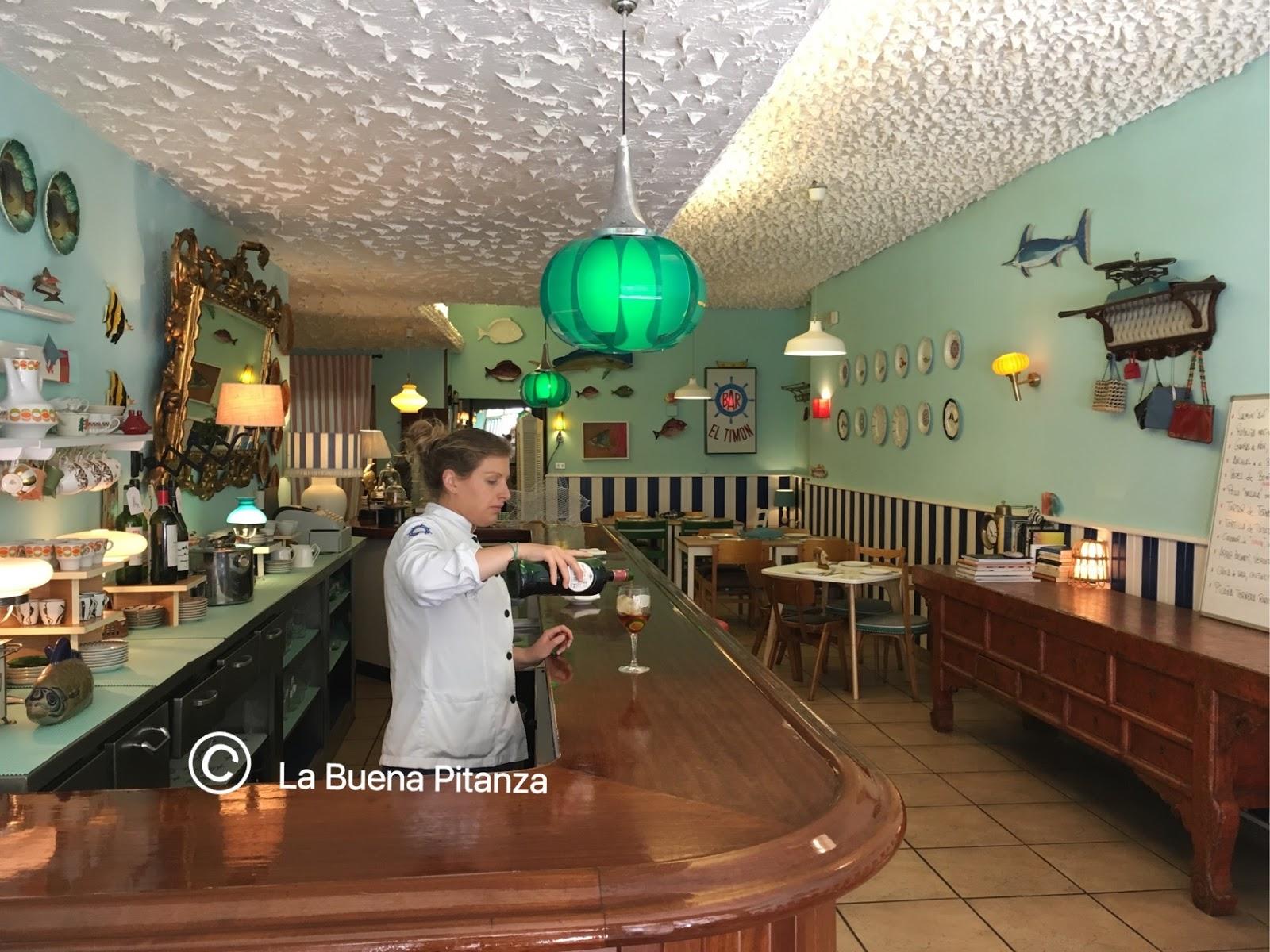 LA BUENA PITANZA: Timón Bar: Casa y cocina de aires marineros