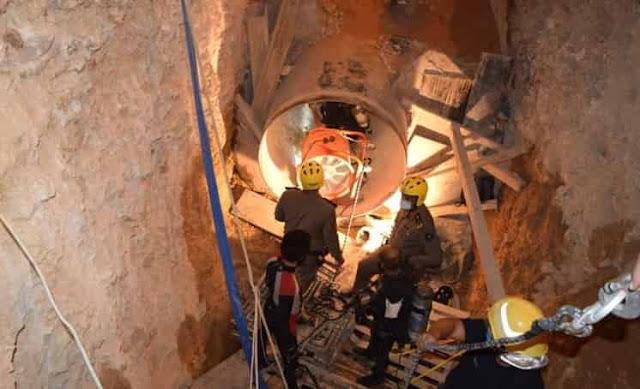 Six Workers die inside a underground Water Pipe in Riyadh