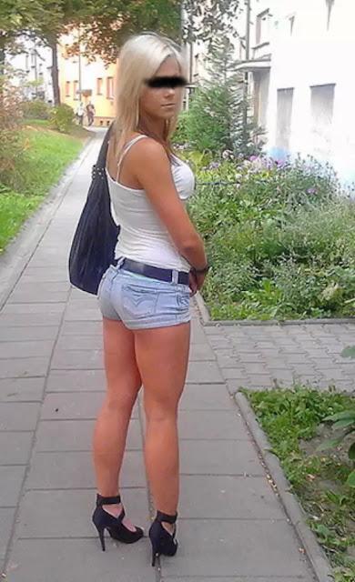 Outdoor Fick mit Deutscher Blondine