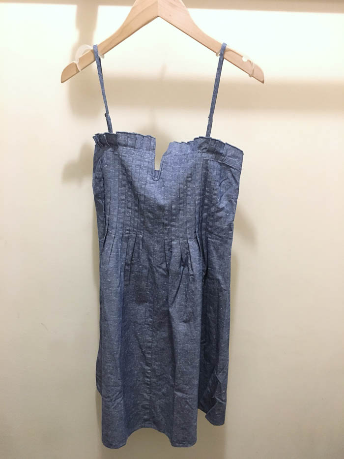 cute chambray dress