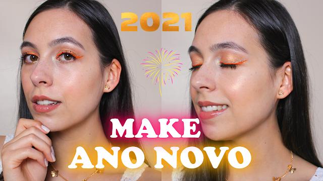 Maquiagem para ano novo reveillon 2021