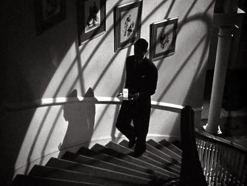 Η σκηνή με το γάλα στην ταινία Suspicion