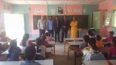 حملة طبية شاملة لتلاميذ عدد من المؤسسات التعليمية بجماعتي بني وكيل وبني شكدال