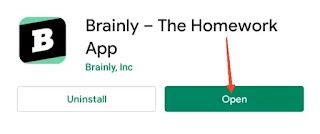 brainly app kya hai Open kare
