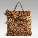 Valentino Leopard Side Bow Shopper
