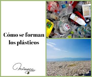 Contaminación ambiental. Contaminación por plástico. Reciclar plásticos. Manualidades con plásticos