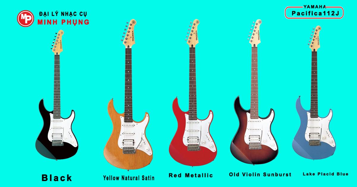 Đàn guitar điện Yamaha Pacifica112J (màu ánh mặt trời)