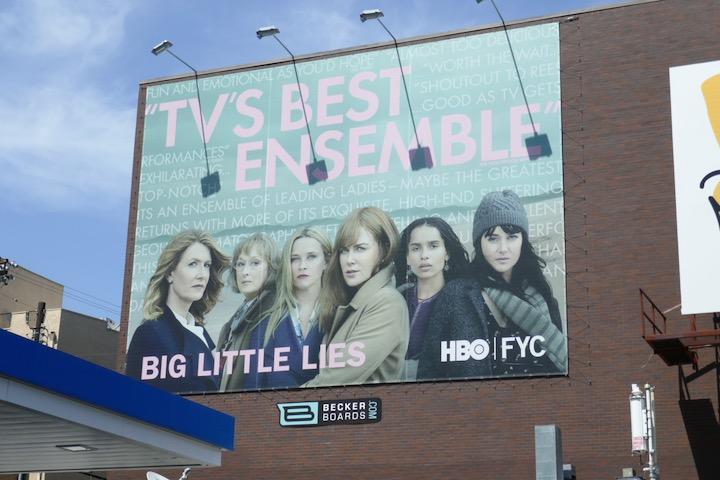 Big Little Lies season 2 Emmy FYC billboard