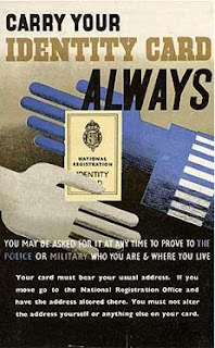 Carry your Identity Card Always (poster from wartime Britain)