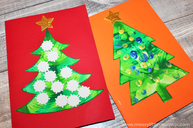 Christmas tree craft for toddlers and preschoolers