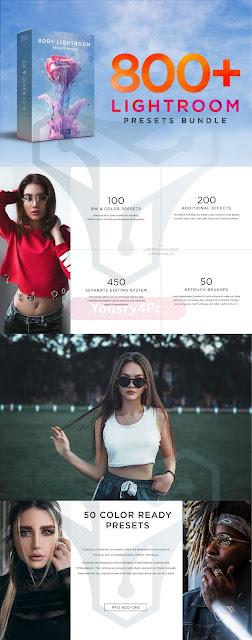 تحميل 800+ Lightroom Presets - النسخة الثانية من أفضل حزم لايت روم