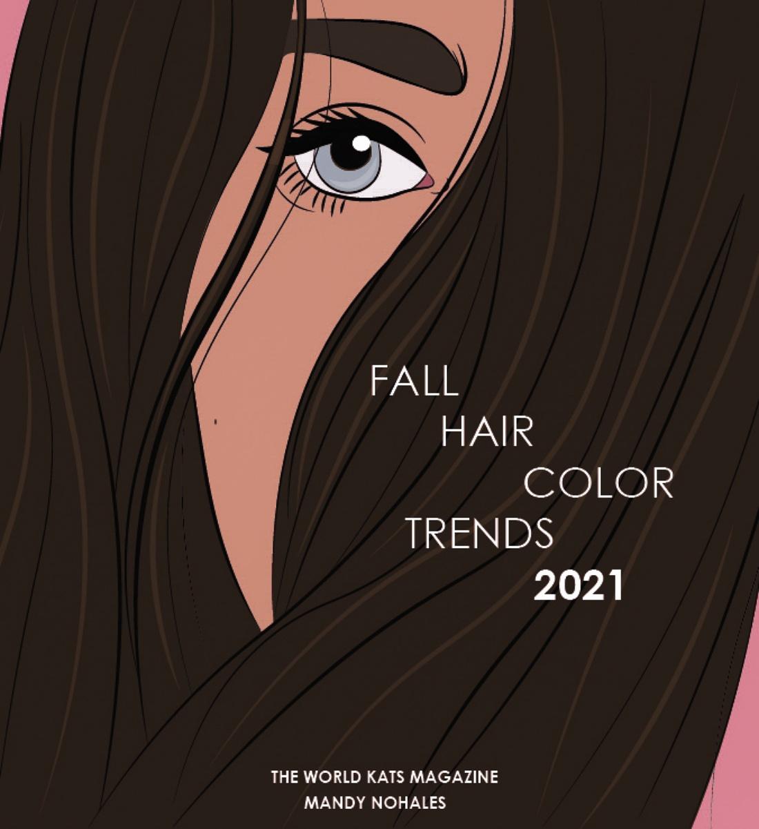Tendencias de coloración que amarás durante la temporada de otoño 2021