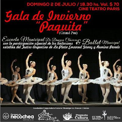 Gala de danza clásica Necochea