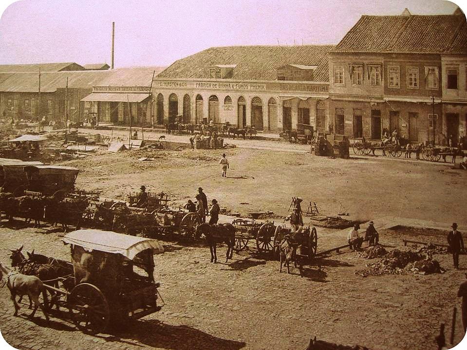 Mercado Público de Porto Alegre, 1890