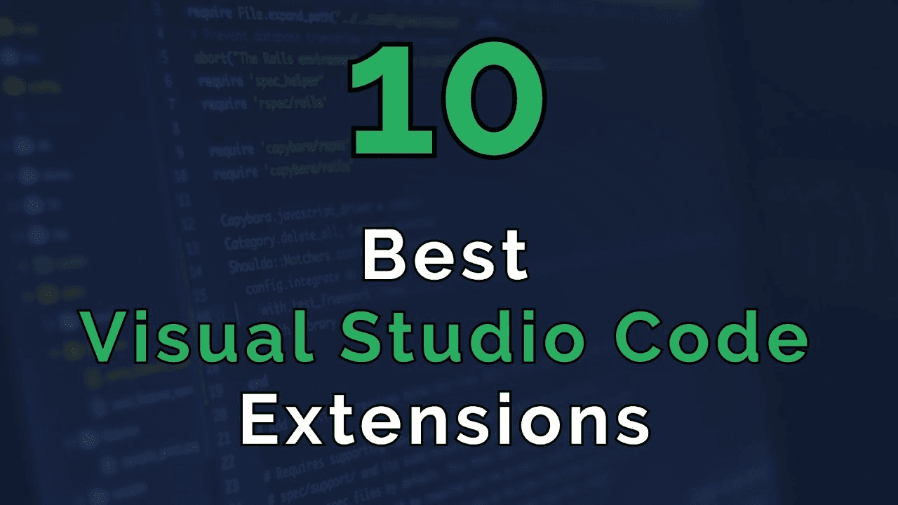 Top 10 VS Code Extensions for JavaScript Developers - Place