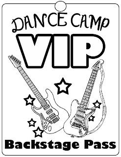 The Dance Buzz: Rock Star Camp Day 1: Tie-Dye