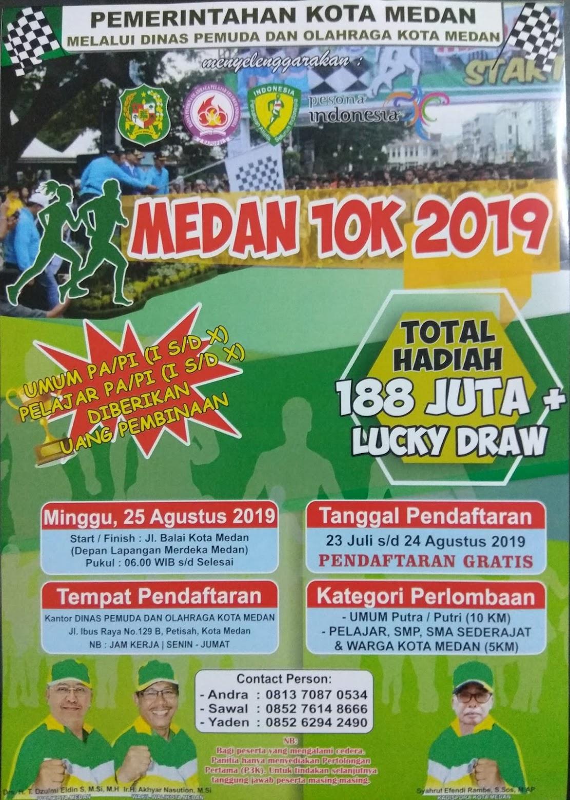 Medan 10K • 2019