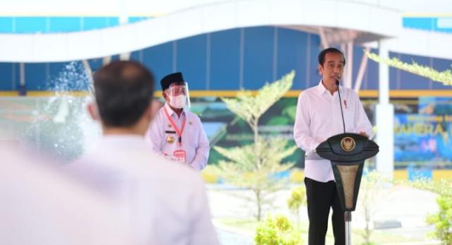 Jokowi Ungkap 4 Alasan Genjot Pembangunan Infrastruktur