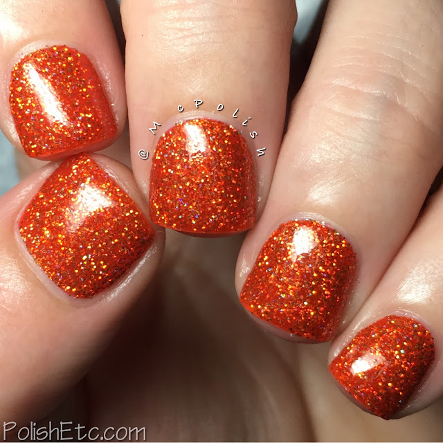 Grace-full Nail Polish - Rainbow Sparklers - McPolish - Eye Searing