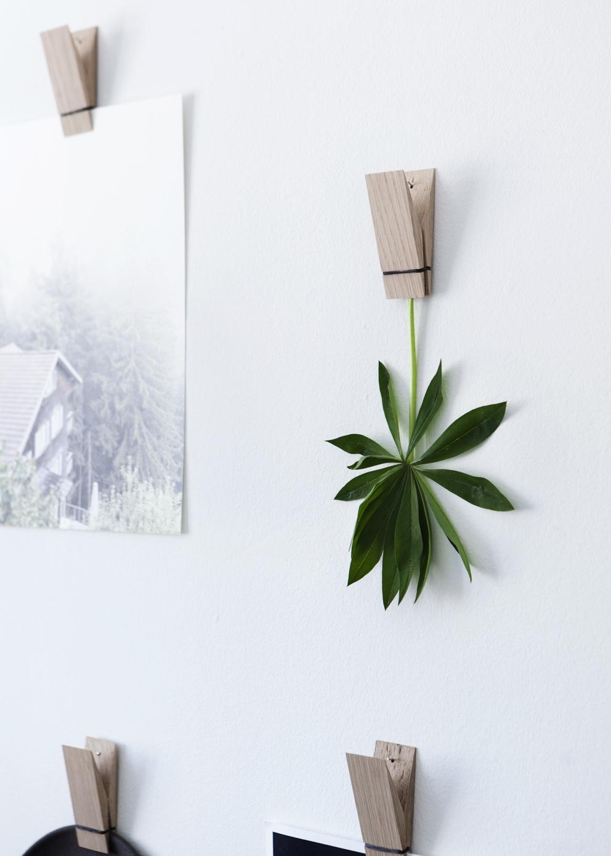 Drewniane wieszaki na ścianę