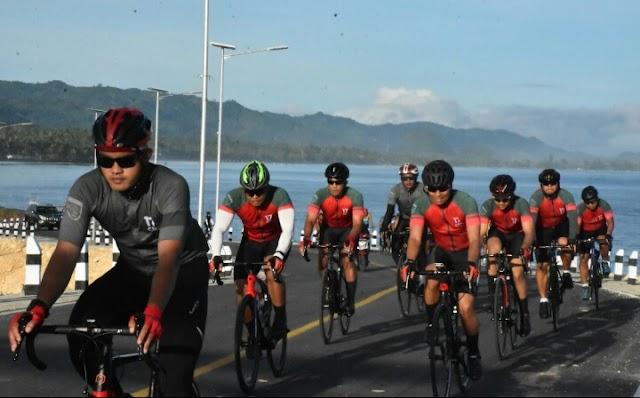 Gowes Bersama Anggota, Pangdam XVII/Cenderawasih Tempuh Jarak 110 Km