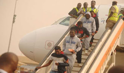 171 nigerians return libya
