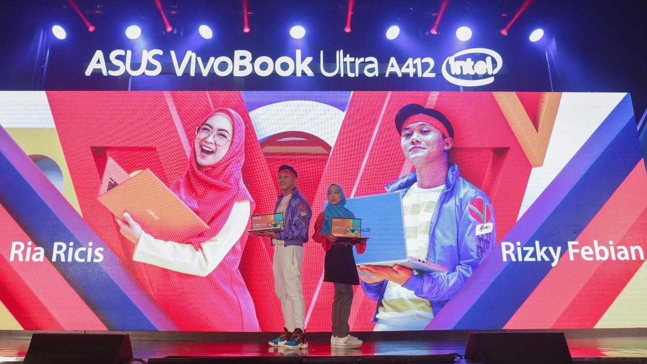 Gandeng Rizky Febian dan Ria Ricis, Cara Asus Indonesia Kenalkan VivoBook Ultra A412