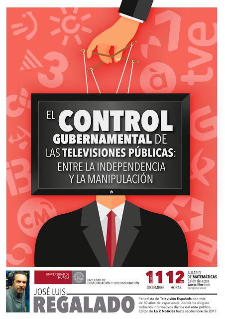 """Conferencia: """"El control gubernamental de las televisiones públicas: entre la independencia y la manipulación."""
