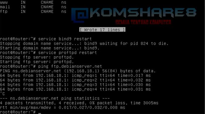 Cara Install FTP pada Debian Server