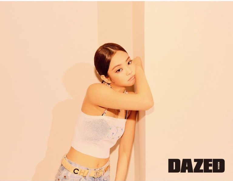 jennie, blackpink, kpop, dazed korea, april 2019, chanel