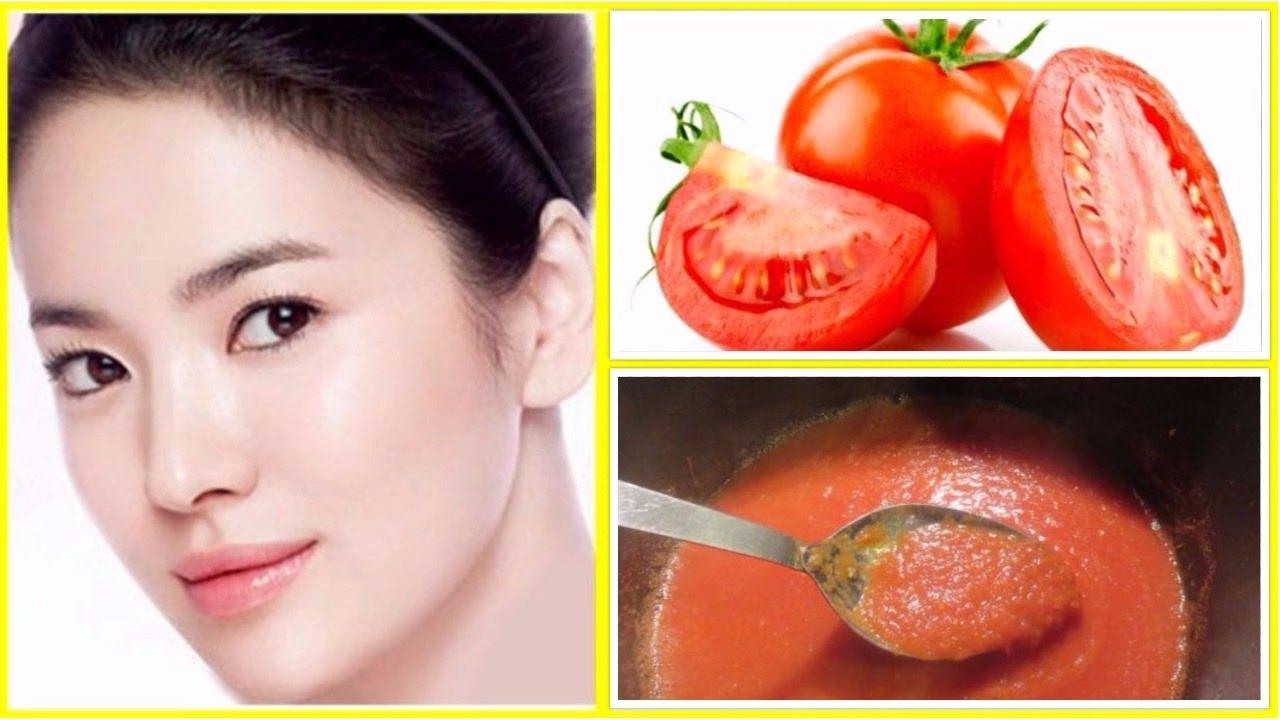 Delicia De Ver Receitas De Beleza Clareamento Da Pele Com Tomate