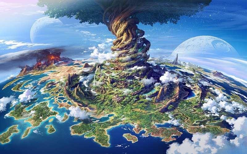 Os Nove Mundos na Mitologia Nórdica
