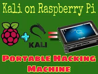 Kali on raspberry