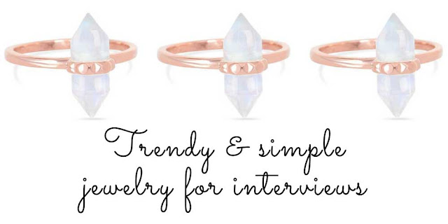 Jewelry for job INTERVIEWS