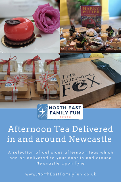 Afternoon Tea Delivered in and around Newcastle