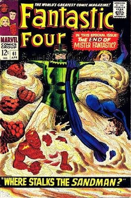 Fantastic Four #61, Sandman
