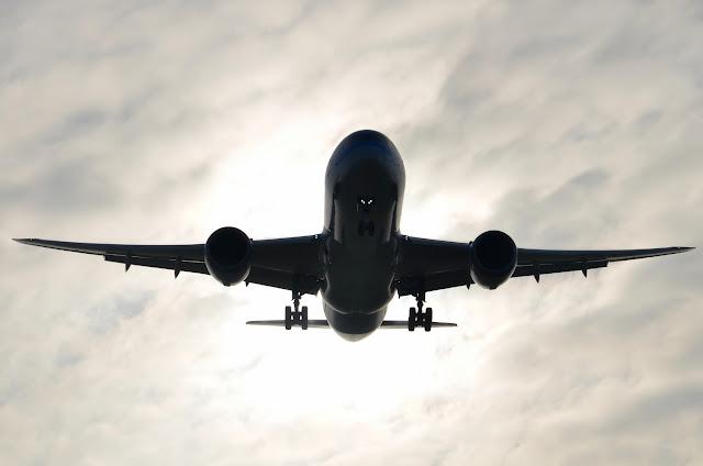 Silhouette of Boeing 787-8 Dreamliner