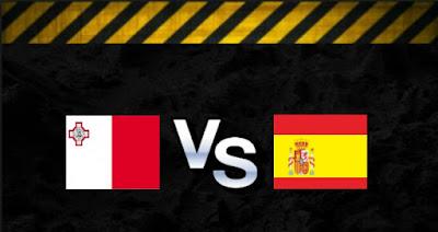 بث مباشر مشاهدة مباراة اسبانيا ومالطة اليوم