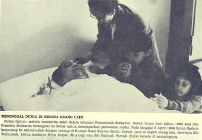 Kematian Tragis Sutan Syahrir