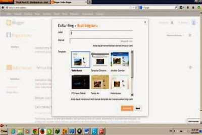 Membuat Blog Gratis Beserta Optimasinya
