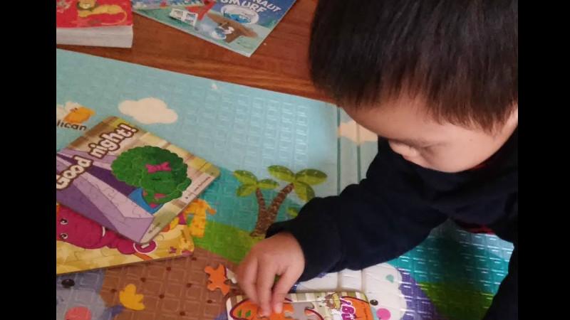 Ilustrasi anak bermain di masa prasekolah