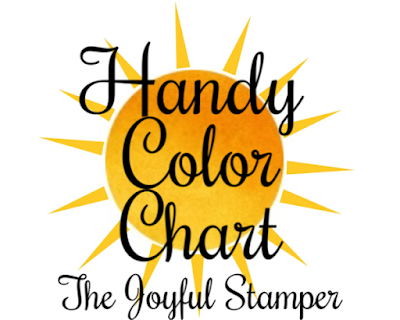 Stampin' Up! color chart, color combinations, color inspiration, papercrafter tools