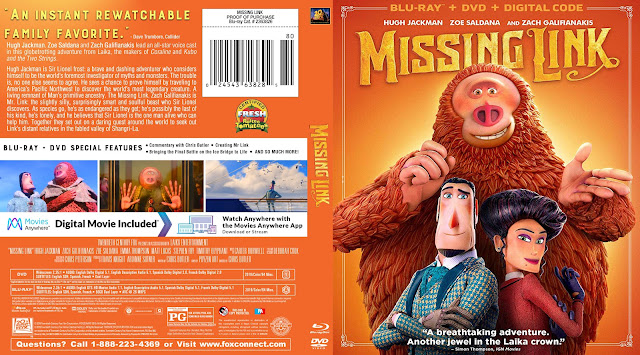 Missing Link Bluray Cover