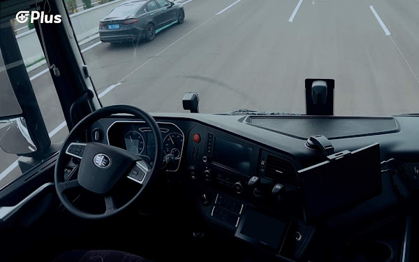Vídeo: caminhão autônomo em testes de rodovia na China