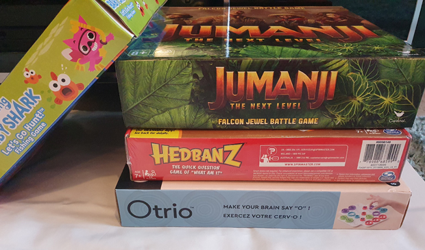 Perfect board and family games for when you're staying in